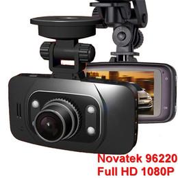 """Cámaras de guión recuadro negro en venta-Novatek 96220 Car DVR Cámara GS8000L 2.7 """"140 grados gran angular Full HD 1080p vehículo Dash Cam videocámara videocámara G Sensor caja negra"""