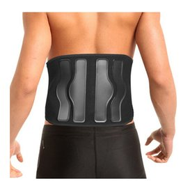 Wholesale Waist Fitness Belt For Back Pain Lumbar disc Herniation Injury Muscle Strain Support Weightlifting Belts Sports Safety