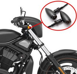 Wholesale Motorcycle accessories Motorcycle Parts Electric Harley turn signal turn signal conversion black turn signal W lights