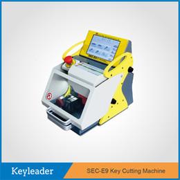 Wholesale China Hot Sale Portable Multi Language SEC E9 Fully Automated CNC Key Cutting Machine