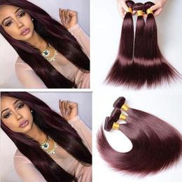 Burgundy hair colors samples burgundy hair colors samples 3 bundle deals burgundy brazilian hair weaves silky straight pure color 99j wine red brazilian hair pmusecretfo Choice Image