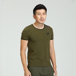 2016 The New Arrived Fashion Summer Clothing Cotton Men Fitness Shirt Tops Tees Skate Tee Shirts Men'S T-Shirt MS-6168A Z50