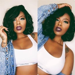 7A Full Lace Human Hair Wigs for Black Women bob wig Glueless Full Lace Wigs Brazilian Hair Loose Wave Lace Front Human Hair Wig