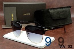 Wholesale HIGH QUALTIY Fashion TOM Designer HOT sunglasses for women sunglass Frame eyeglasses Oversize Luxury glasses