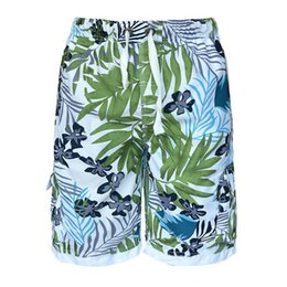 Wholesale Sell Premium Quality Men s Beach Shorts Summer Swim Board Shorts Quick Dry Pockets Mesh Lining Floral Over Plus Size Best