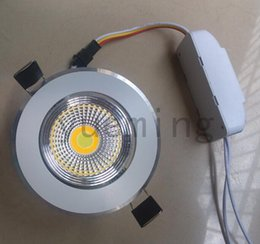 hot!!!9W COB Recessed Led cediling down light Can change 3 temperature( cool white pure white  warm white) COB Led ceiling lamps ,AC85-265V