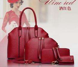Wholesale 2016 Hot Newest Wax oiled pu Leather Women Handbag Shoulder Crossbody Bag For Ladies Handbag Messenger Bag Purse Wallet Sets BB