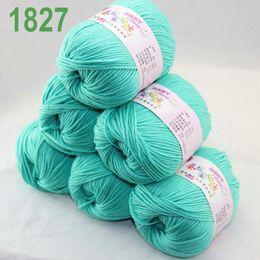 Sale Lot of 6 balls x 50g Cashmere Silk velvet Children Yarn Teal 18-27