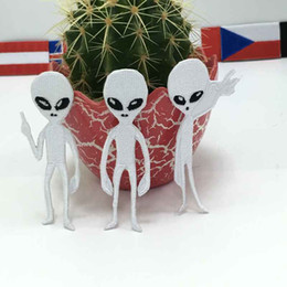 Alien Cartoon Logo Iron on Patch Great Gift for Men and Women ramakian