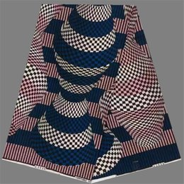 Wholesale New coming party apparel material African super wax fabric for nice clothing NWF49 yards