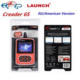Wholesale 2017 Launch X431 Creader Plus Creader S Original Code Reader OBD2 scanner European American version Launch CReader VI Plus