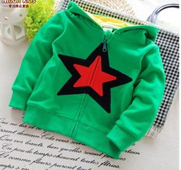 Wholesale 2016 spring and autumn male female child double layer cap outerwear casual children cardigan baby trend