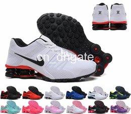 Wholesale Shox NZ oz Men Women Running Shoes Cheap Fashion Sneakers Shox NZ Top Quality Sport Shoes Size