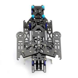 Wholesale New EMAX Transformer Carbon Fiber Quadcopter Kit Frame BLUE frame natural fiber american fiber american