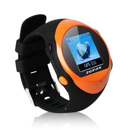 Wholesale PG88 GPS Tracker sos Watch Mobile phone for kids Old man with Best touch screen function MP4 smart watch mobile wrist smartwatch