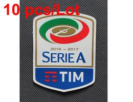 wholesale 2016-2017 Italian Serie A Football League patch Soccer Patch Soccer Badge 10 pcs  Lot free shipping !