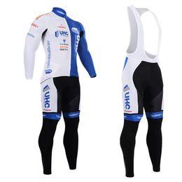 2015 New arrive uhc long sleeve jersey Cycling Suits Cycling Kit cycling jersey cycling jersey Bike Suit Road Cycling Kit bib pants