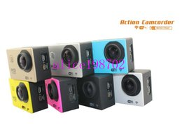 Wholesale Best Gopro Waterproof Sports Camera SJ4000 SJ5000 plus Style A9 HD Action Camera Diving P M quot View Mini DV digital Camcorders