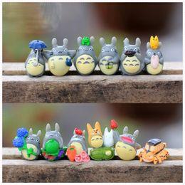 Hot Sale 12pcs set 1.7x3cm My neighbor totoro PVC Doll Action Figure Toys For Micro landscape material decoration