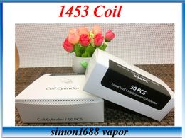 Wholesale 1453 Coil Atomizer justfog Coil Core Head Wicks Replaceable Coil Core Suit for Atomizer VS gs air coils
