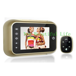 3.5inch High Definition Digital Peephole Viewer 3X Digital Zoom Door Eye Hole Camera With IR LED Night Vision Lights With Box