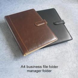 equipos de oficina carpeta de documentos del cuero del asunto A4 para la carpeta de archivo de documentos carpeta clip con anillo de lápiz calculater 316B negro desde a4 aglutinantes de anillos fabricantes