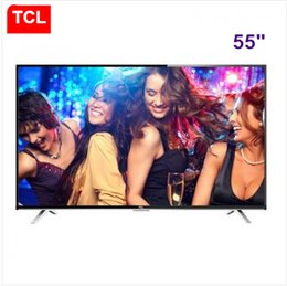 TCL 55-inch full HD LED LCD TV Andrews intelligent TV resolution 1920 * 1080P Top selling products free shipping