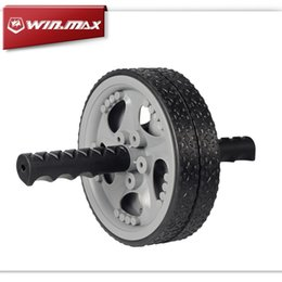 Wholesale Winmax No Noise Quiet Abdominal Muscle Exercise for Gym Fitness Workout Abdomen Exerciser Wheel Ab Rollers