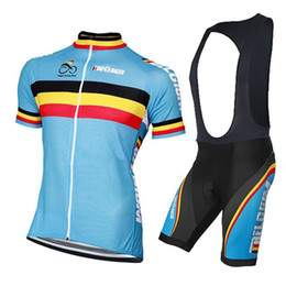 Belgique Team Summer Cycling Clothing Quick-Dry Cycle Clothes Race Bicycle Wear Ropa Ciclismo MTB Bike maillot Cycling Jersey