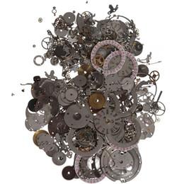 Regarder des pièces de réparation à vendre-Vente en gros-La meilleure qualité 50g un paquet Watch Scrap pièces différentes Bricolage Matériaux Accessoires d'art Pièces de réparation de montre