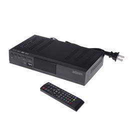 Definición entorno en Línea-1080P Receptor de radiodifusión de vídeo digital con H.264 MPEG-4 MPEG-2 para HDTV TV Box Alta Definición DVB-S2 Set Top Box