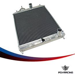 Wholesale PQY RACING Row MM Aluminum car auto Radiator for Honda Civic Del Sol MT EG EK PQY SX103