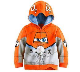 Wholesale-Hot Sale Pixar Plane Dusty Crophopper Goodies Outfit Hoody Coat Sweatshirt for Boys Girls Kids Children SA-076