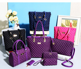Wholesale 2016 including Women Ms girl embossed handbags shoulder bags messenger bags purse wallets key cases makeup bags Leisure wild bag