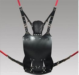 Top Quality Two Layers Leather Sling Sex Hammock Sex Swing Chair Leather bed Hammock and Pillow Adult Games Sex Toys for sale