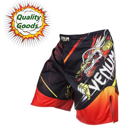 Wholesale Quality goods MMA short quot TATSU KING quot LYOTO MACHIDA Fight short BLACK ORANGE