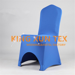 50pcs Sold Lycra Chair Cover Cheap Wedding Spandex Chair Cover Good With Arch Front Quality Free Shipping