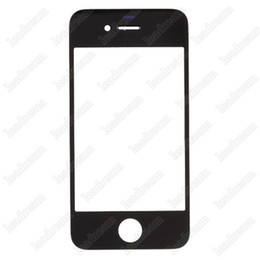 Wholsale 300PCS High Quality Front Outer Touch Screen Glass Replacement for iPhone 4 4s