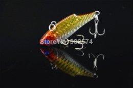 Crochets lests à vendre-10pcs / lot de pêche leurre vib sinker appât 5.5CM-10G-8 # crochets poisson dur appât pesca attaquent leurres artificiels WOBBLER swimbait
