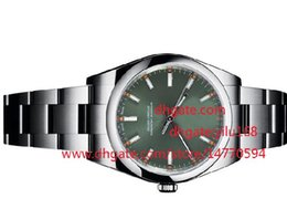 Wholesale NE Mens sale Christmas gift wristwatch Oyster Perpetual Steel Olive Green Watch Watch Automatic mechanical Men s Watches WristWatches