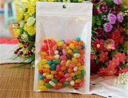 10*18cm Clear Self Seal Zipper Plastic Retail Packaging Bag, Ziplock Zip Lock Bag Retail Package W  Hang Hole