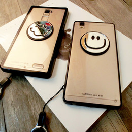 Creative Fashion Cell Phone Cases Smile Emoticon Phone Cover with Transparent Back for iphone 7 7Plus 6s Samsung Huawei 20