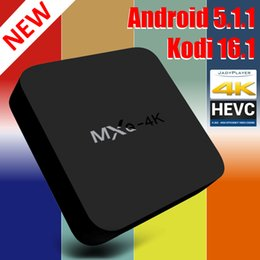 Wholesale 3D Smart TV Box MXQ Sex Xxl MXQ RK3229 Android Kodi Quad Core Live TV Stream Box Support HDMI Wifi XCMB DLNA Netfix Media Boxes pc