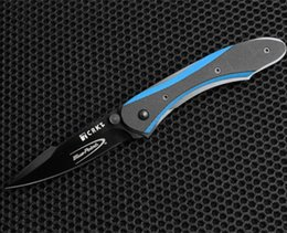 Wholesale 201608 new CRKT CRKBP21 Badger GALLAGHER design Camping Survival Folding Knife Gift Knife Outdoor Tools OEM sample freeshipping