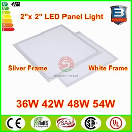 Wholesale LED panel lights w W w mm LED panels ft by ft recessed suspending indoor led Ceiling panel Light fixtures CE UL RoHS