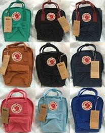 Wholesale FJALLRAVEN CLASSIC KANKEN backpacks bags fjall raven Unisex Men s Women s bag waterproof TRAVEL TOTE BEACH BAG SWEDEN backpack school bag