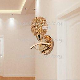 High Quality New Modern Crystal Wall Lamp Sconces Bracket light Wall fitting Lighting H240mm FREE SHIPPING From lighting factory