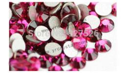 Free shipping SS20 4.6-4.8mm 1440pcs round rose flatback non hotfix rhinestones crystals strass beads rhinestone alloy