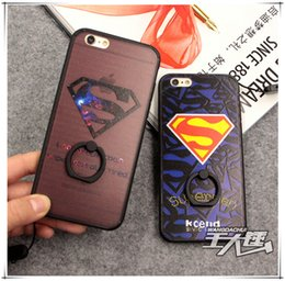 Wholesale Wood Meets Color Personality Zebra New Housing Ring Buckle Bracket Phone Case Apply to iPhone5s s Plus Anti knock