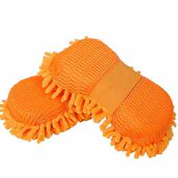Wholesale Selling Hand Cleaner - Manufacturers selling car wash chenille it will take sponge Car clean sponge Hand wipe of coral polyps